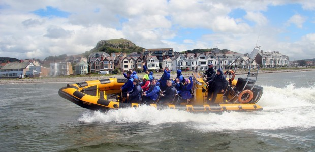 rib rides to Menai Bridge