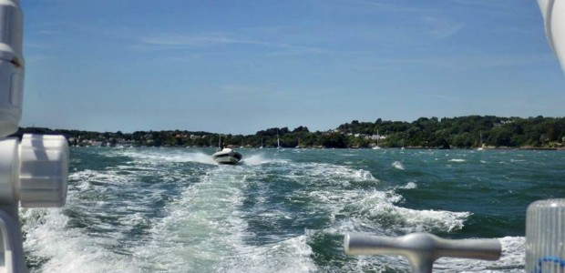 rib rides on the Menai Strait