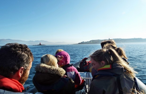 ribride to Puffin Island